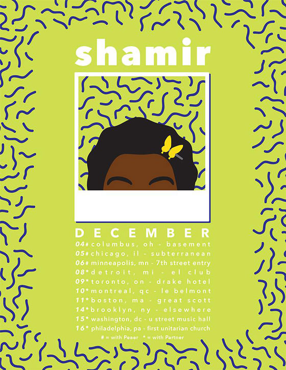 "Shamir Maps Out Winter Tour, Shares New ""Straight Boy"" Video"