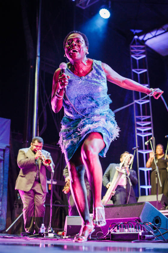 ​Sharon Jones and the Dap-Kings / the Chronos Band Festival Main Stage, Halifax NS, July 8