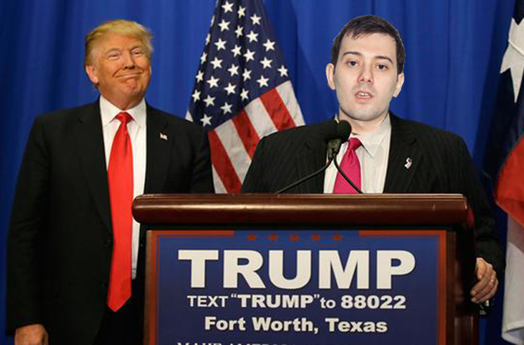 Martin Shkreli Will Share His Unreleased Music Collection If Donald Trump Becomes President