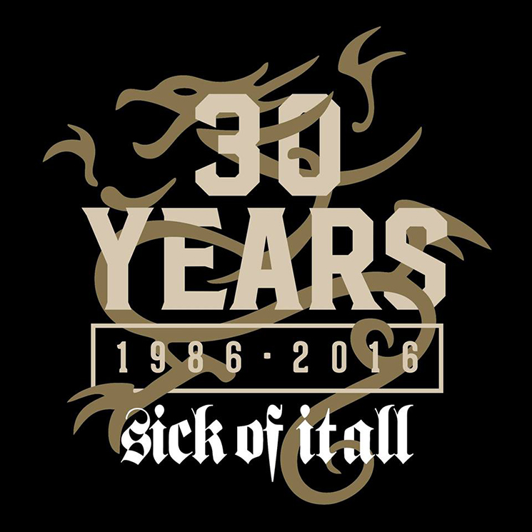Sick of It All Plot 30th Anniversary Tour