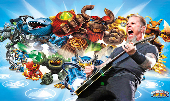 WTF: Metallica's James Hetfield Is Voicing a Character in the 'Skylanders' Cartoon