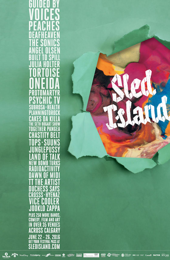 Sled Island Expands Lineup with Oneida, Seth Bogart, Land of Talk