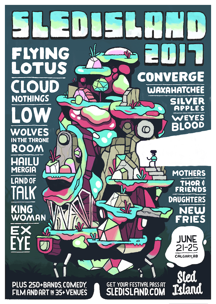 Sled Island 2017 Gets Converge, Silver Apples, Low, Cloud Nothings