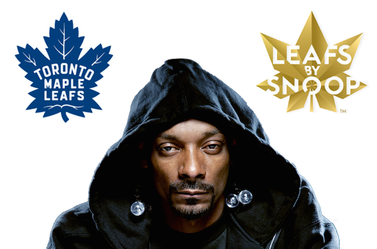 Snoop Dogg Gets into Legal Battle with Toronto's Maple Leafs Sports over Weed Product Logo