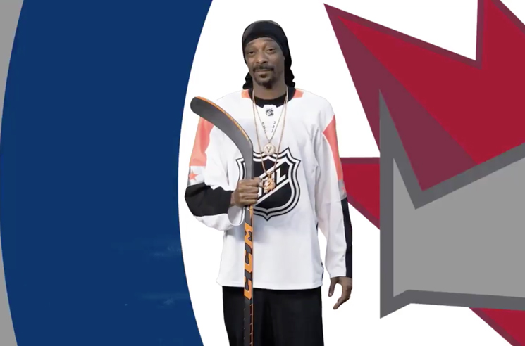 NHL Enlists Snoop Dogg for Stanley Cup Playoff Video Series