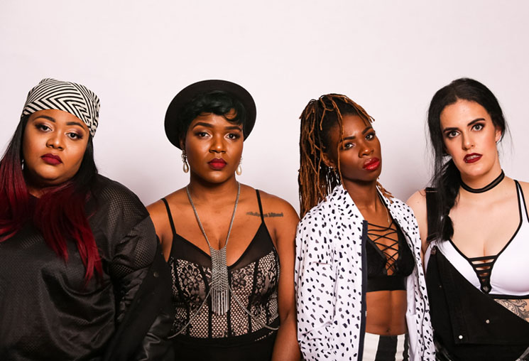 The Sorority, A Rare Four-MC Hip-hop Group, Introduce Themselves on 'Pledge'