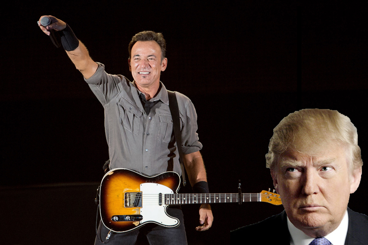"""Bruce Springsteen Says Donald Trump Appeals to People's """"Worst Angels"""""""