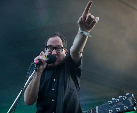 The Hold Steady Fort York, Toronto ON, July 6