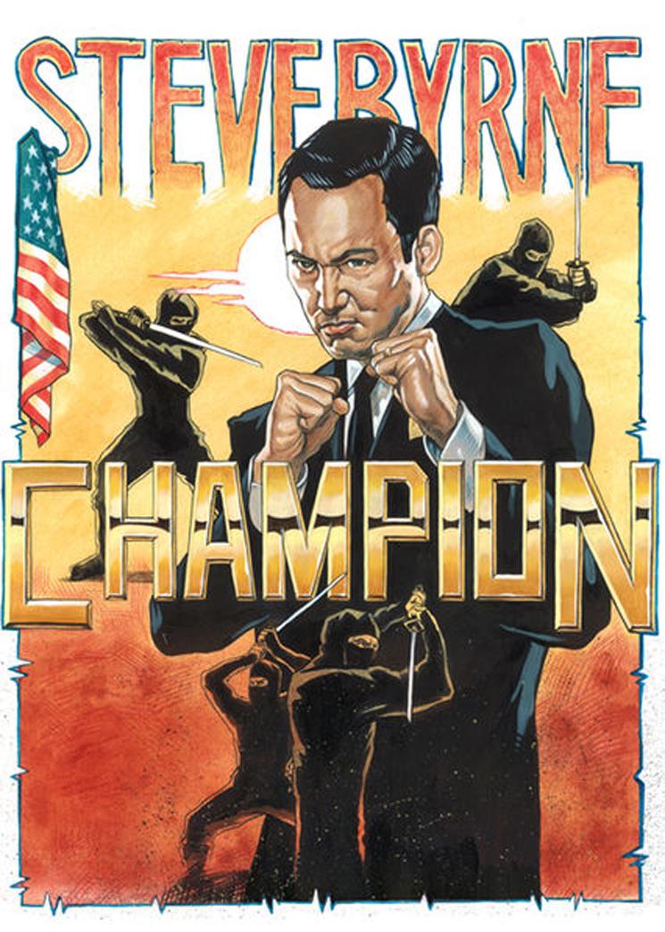 Steve Byrne Champion