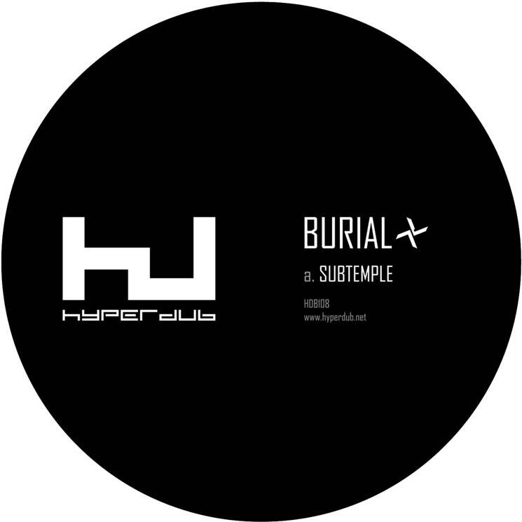 Burial Returns with 'Subtemple' / 'Beachfires' Single