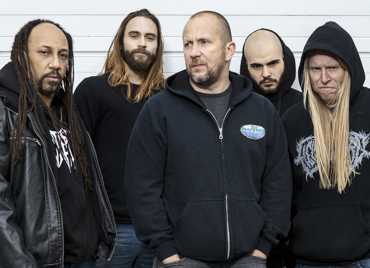 After 30 Years, Suffocation Strike Consistent/Repetitive Balance on '...Of the Dark Light'