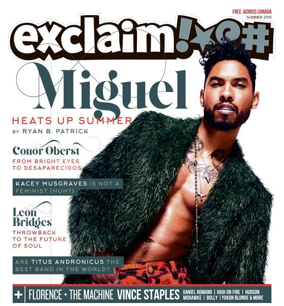 ​Miguel, Conor Oberst, and Florence and the Machine Fill Exclaim!'s Summer Issue