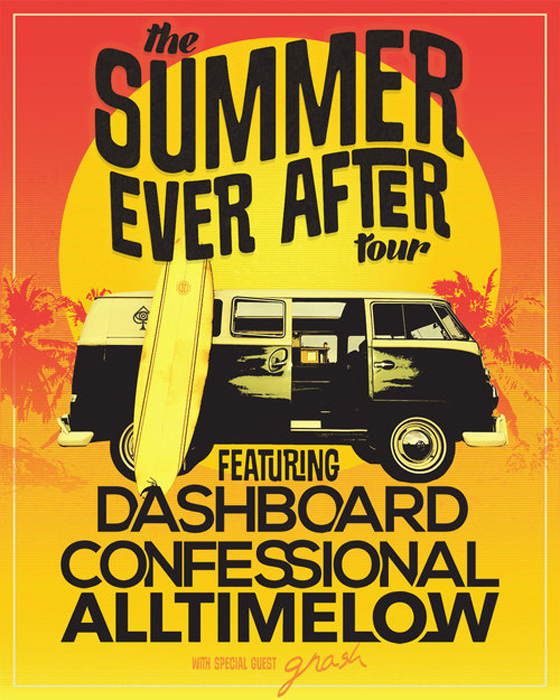 "Dashboard Confessional Team Up with All Time Low for ""The Summer Ever After Tour"""