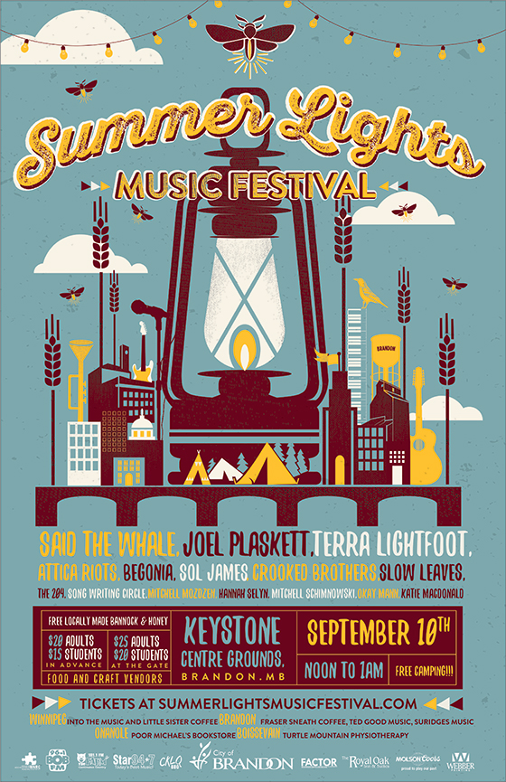 Manitoba's Summer Lights Music Festival Reveals Inaugural Lineup