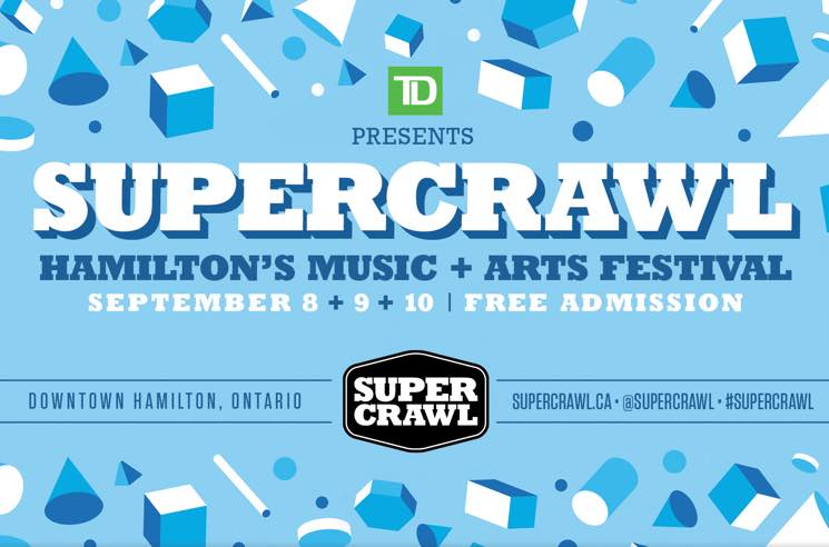 The Sheepdogs, PUP, B.A. Johnston Added to Hamilton's 2017 Supercrawl