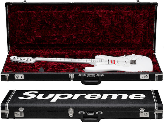Fender and Supreme Are Teaming Up to Make an Incredibly Corny Guitar