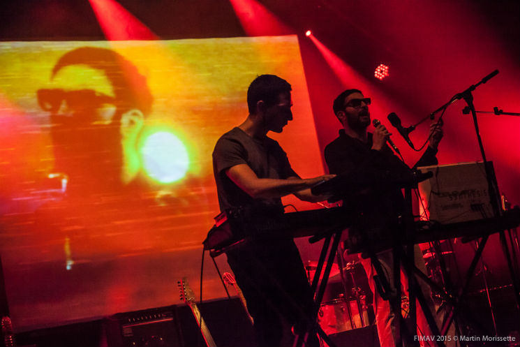 ​Suuns & Jerusalem In My Heart Colisée Desjardins B, Victoriaville QC, May 14