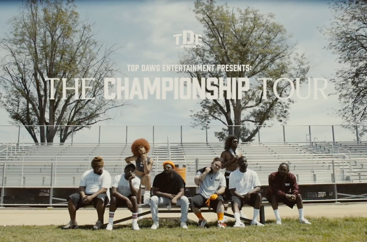 Watch the TDE Roster Hit the Field Ahead of 'The Championship Tour'