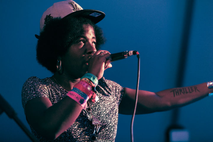 THEESatisfaction Bungalow, Austin TX, March 21