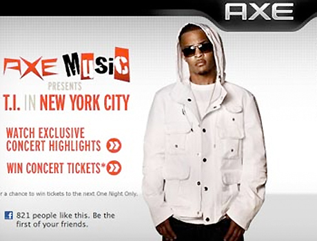 T.I. Dropped by AXE