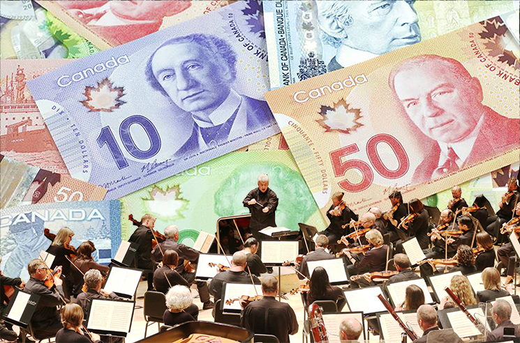 "Toronto Symphony Orchestra Granted $7.5M for ""National Musical Celebration"""