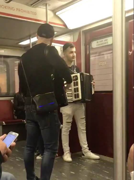 Toronto's Subway Accordion Players Are Now Playing Camila Cabello's 'Havana'