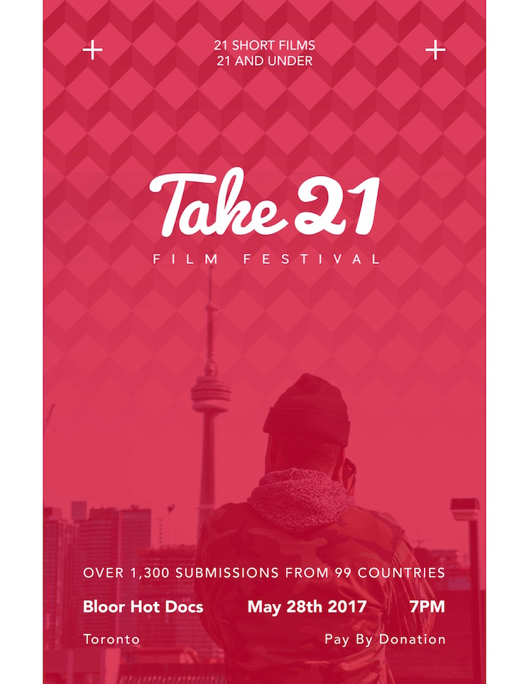 Here Are the Finalists for Toronto's Take 21 Film Festival