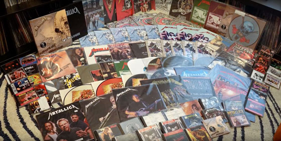 Meet Canada's Largest Metallica Memorabilia Collector