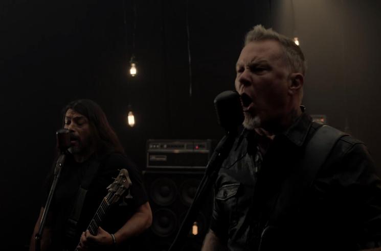 Metallica 'Moth Into Flame' (video)