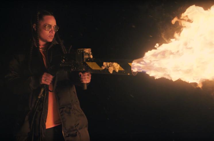 Tasha the Amazon 'Watch It Burn' (video)