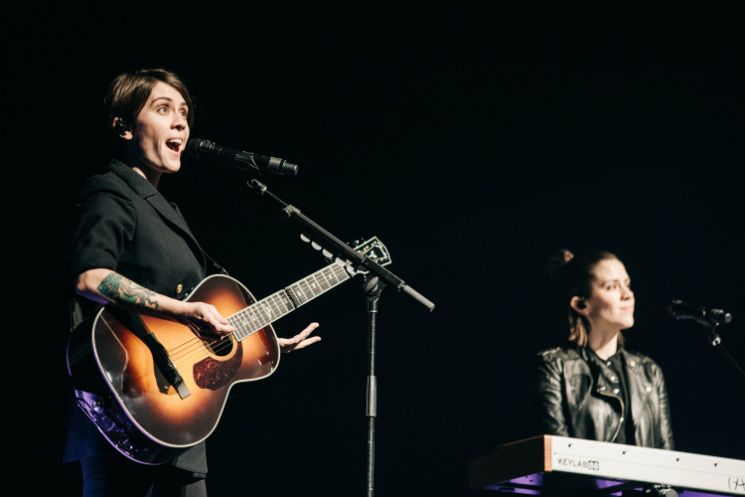 Tegan and Sara's Hand-Painted Guitars Stolen in Los Angeles