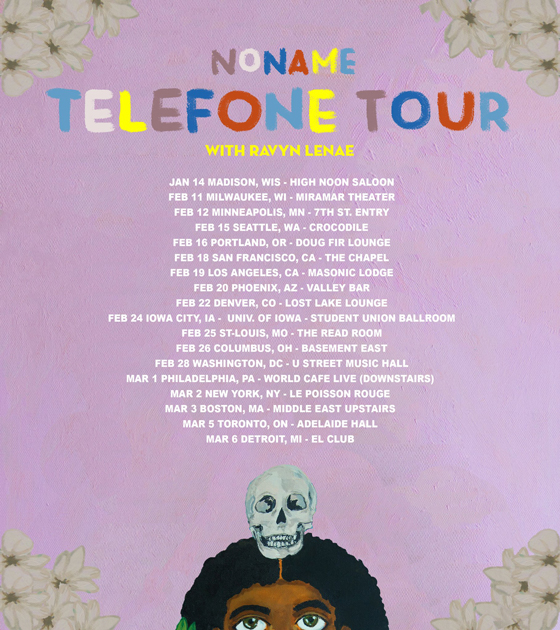 "Noname Plots the ""Telefone Tour,"" Plays Toronto"
