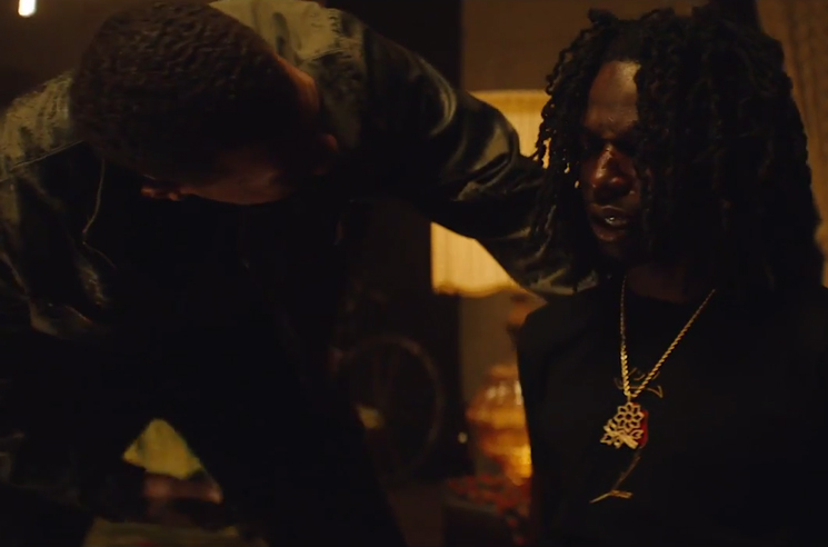 "Jazz Cartier ""Tempted"" (video)"