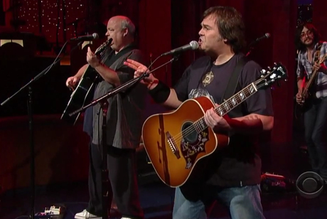 Tenacious D 'Roadie' (live on 'Letterman')