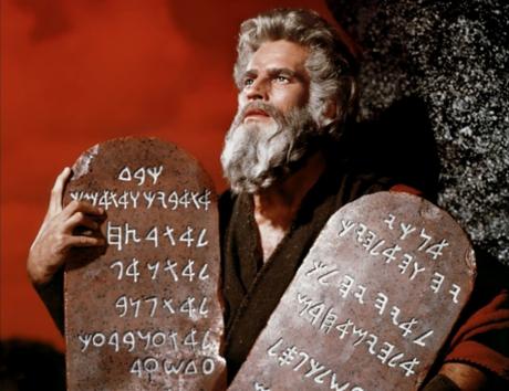 The Ten Commandments [Blu-Ray] Cecil B. DeMille