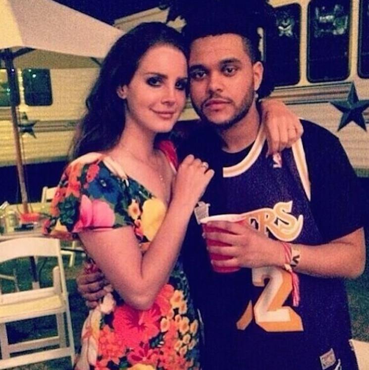 """Lana Del Rey Joins the Weeknd for Live """"Prisoner"""" Performance"""