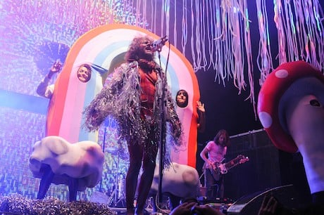 The Flaming Lips Roots Stage, Downsview Park, Toronto ON, September 6