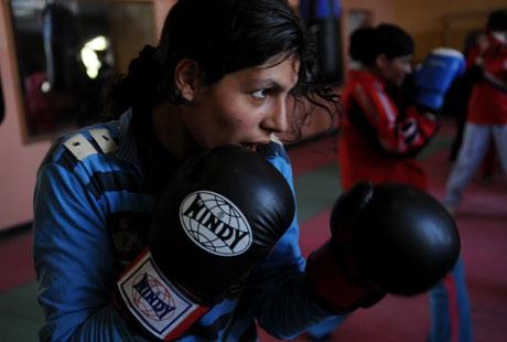 The Boxing Girls of Kabul Ariel J. Nasr