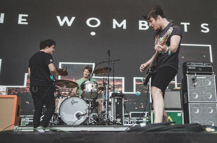 The Wombats Woodbine Park, Toronto ON, June 12