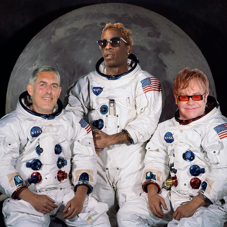 Young Thug Is Set to Remix Elton John's 'Rocket Man'