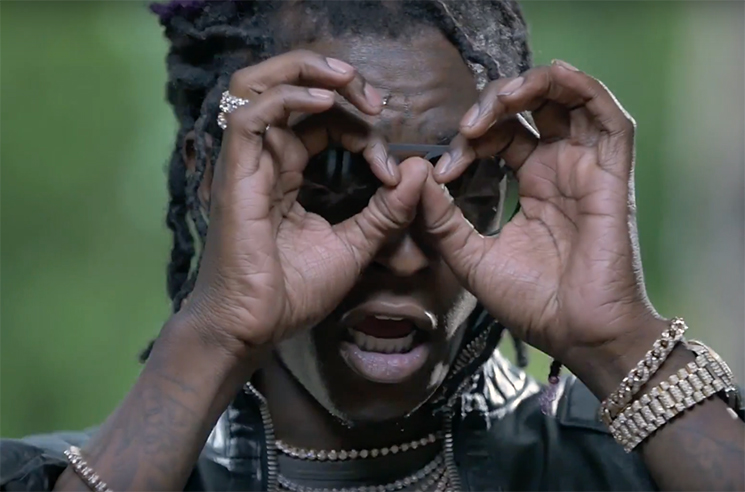 "Young Thug ""Turn Up"" (video)"