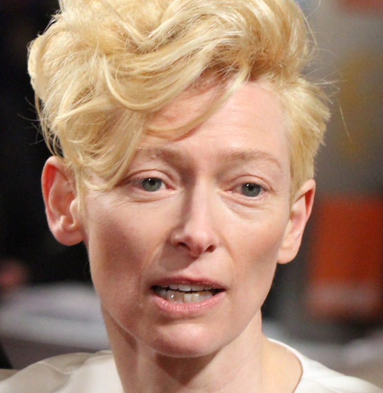 Tilda Swinton Is Completely Unrecognizable in Her Latest Role