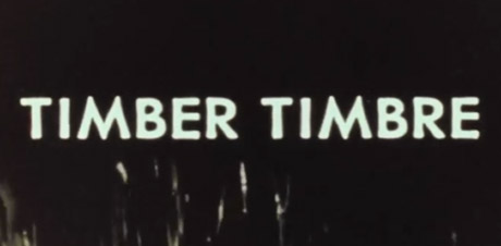 "Timber Timbre ""Black Water"" (video)"