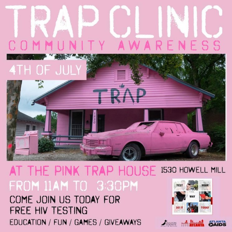 2 Chainz's 'Pretty Girls Like Trap Music' House Hosts Church Service, Free STD Tests