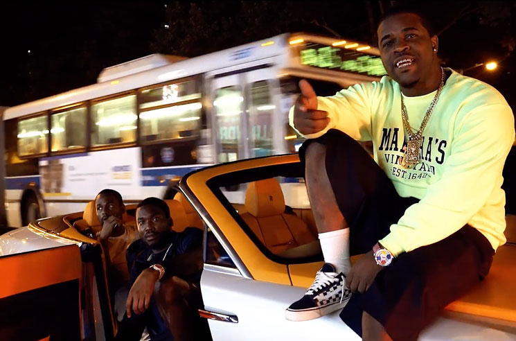 "A$AP Ferg ""Trap and a Dream"" (ft. Meek Mill) (video)"