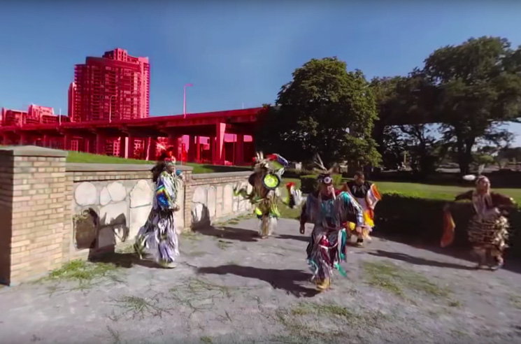 "A Tribe Called Red ""Indian City (ft. Black Bear) (360° video)"