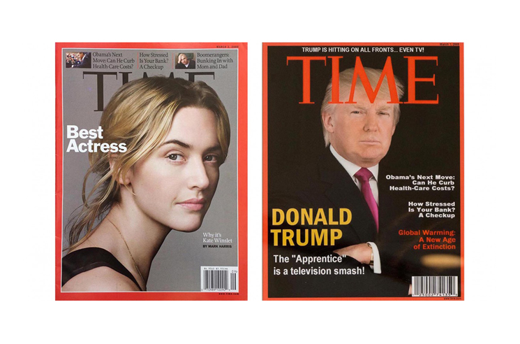 Donald Trump Hangs Fake 'TIME' Magazines in His Golf Clubs