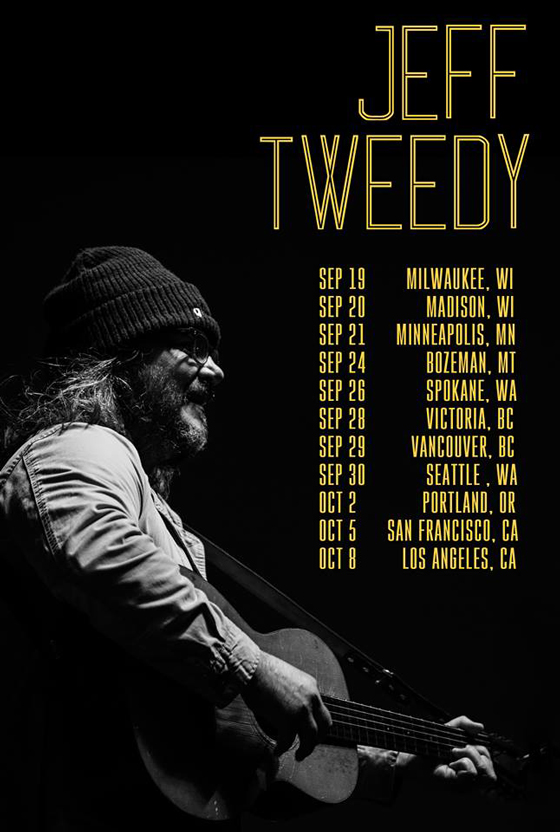Jeff Tweedy Plots Solo West Coast Tour