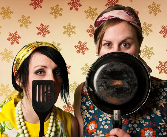 Two Weird Ladies / Falcon Powder Comedy Bar, Toronto ON, March 15