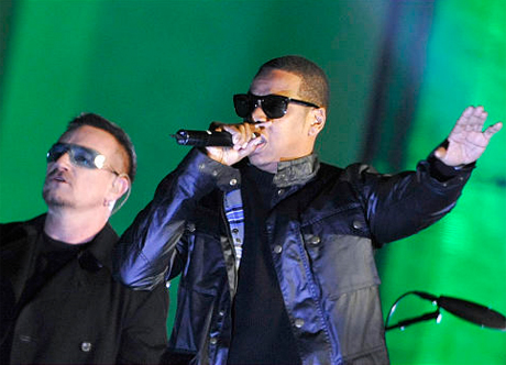 U2 and Jay-Z Pay Tribute to New Zealand Miners